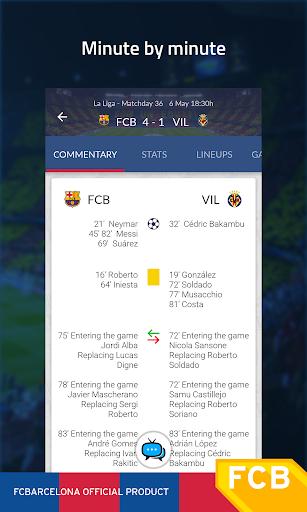 FC Barcelona Official App Screenshot
