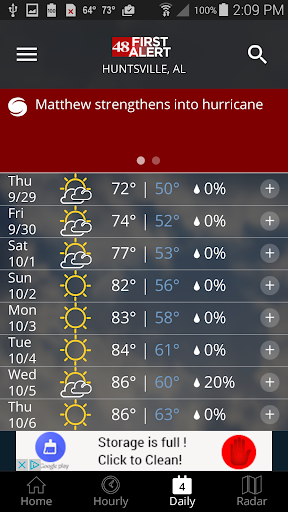 WAFF 48 Storm Team Weather 5.0.1000 screenshots 4