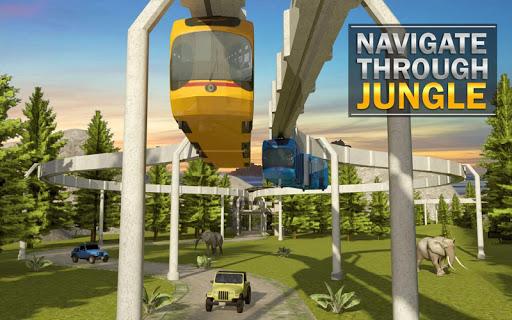 Elevated Train Driving Simulator: Sky Tram Driver apktram screenshots 10
