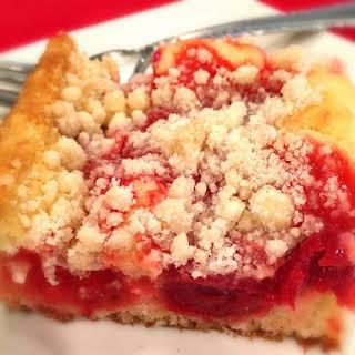 Cherry Crumb Coffee Cake.