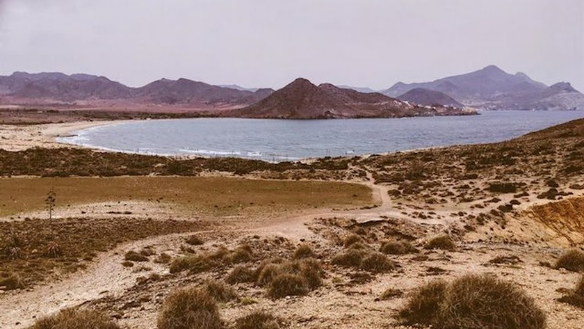 Paraje La Joya de Aguamarga, en el Parque Natural Cabo de Gata-Níjar.