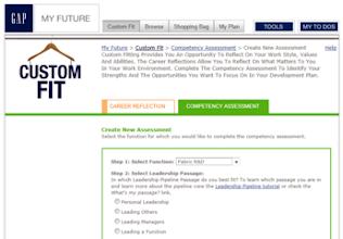 Photo: GAP, Inc.: Career Development Web Portal Implemented by: Bluemodus