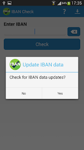 IBAN Check- screenshot thumbnail