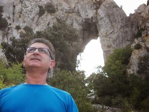 Photo: Didier avant la descente