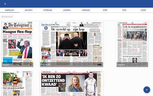 De Telegraaf Krant screenshot 9