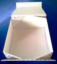 Photo: Caixa Especial (24) com fecho magnético e desmontável (detalhe aberta)