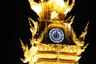 Photo: Day 340 - The Ostentatious Clock in Chiang Rai #2