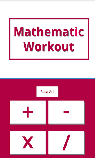 Mathematic Workout