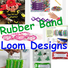 Rubber Band Loom Designs