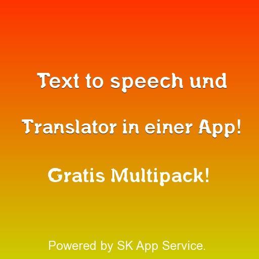 Text to speech mit Translator 工具 App LOGO-APP試玩