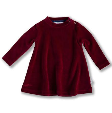 Jaden - Red velour dress for children