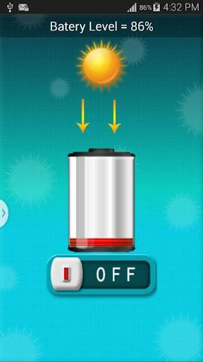 ソーラーバッテリー充電器の悪ふざけ