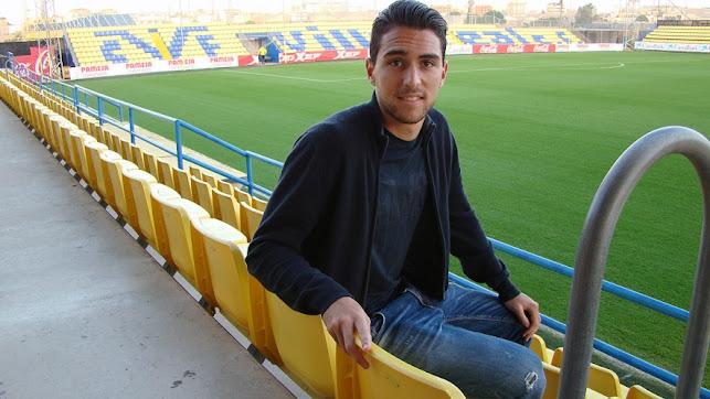 Juan Ibiza en la Ciudad Deportiva del Villarreal