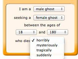 GhostSingles death