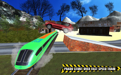 Train vs Prado Racing 3D  screenshots 16