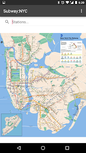 Subway Map: NYC- screenshot thumbnail