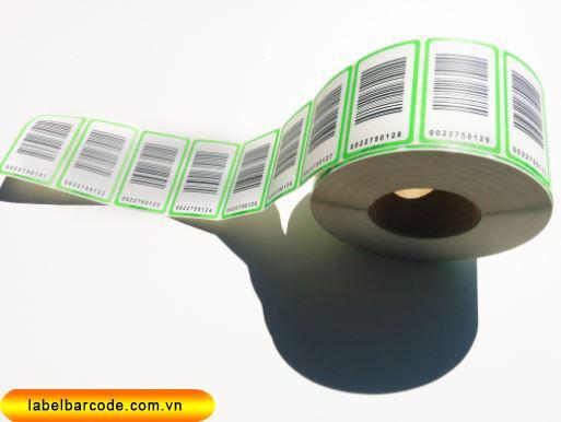 ứng dụng giấy in tem mã vạch