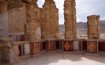 Photo: Herod's North Palace ruins