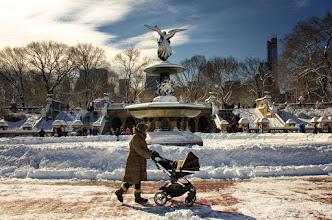 Photo: Just a quick stroll through Central Park...