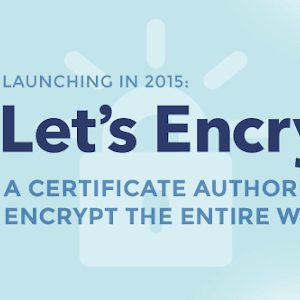 lets-encrypt. A certificate authority to encrypt the entire web