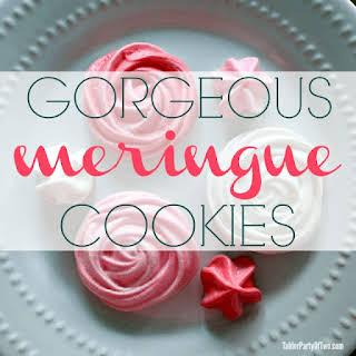 Gorgeous Meringue Cookies.