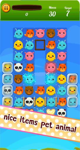 無料解谜Appのペット3Matchゲームをつぶします|記事Game