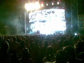 """Photo: En el concierto de """"El canto del Loco"""", Cehegin (Murcia), �o no?"""