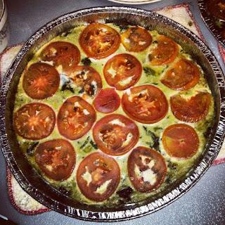 Swiss Chard and Tomato Frittata Recipe