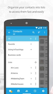Contacts Transfer Backup Sync- screenshot thumbnail
