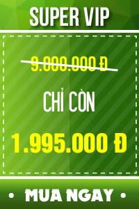 Vé SUPER VIP - 1,995,000 đ