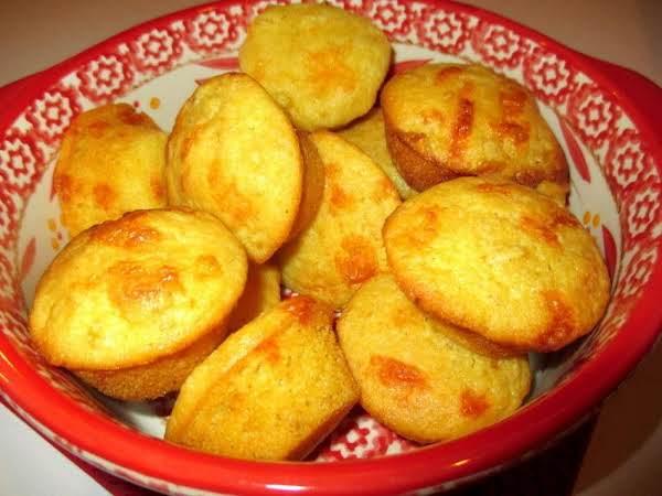 ~ Sweet Lil Cheesy Corn Muffins ~