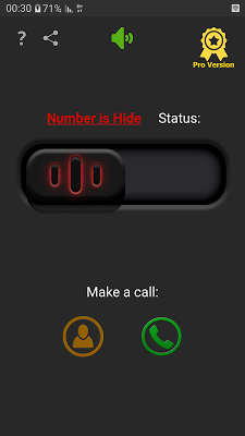 Hide My Number |Hide Caller Id - screenshot
