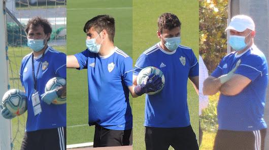Jesús Muñoz, Victor Fortes, Ricardo Molina y Víctor Mañas.