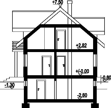 Gilowo a - Przekrój