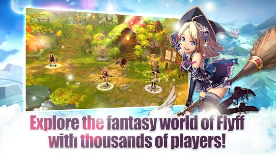 Flyff Legacy Mod Apk – Anime MMORPG – Free MMO Action RPG 1