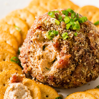 BBQ Bacon Cheese Ball.