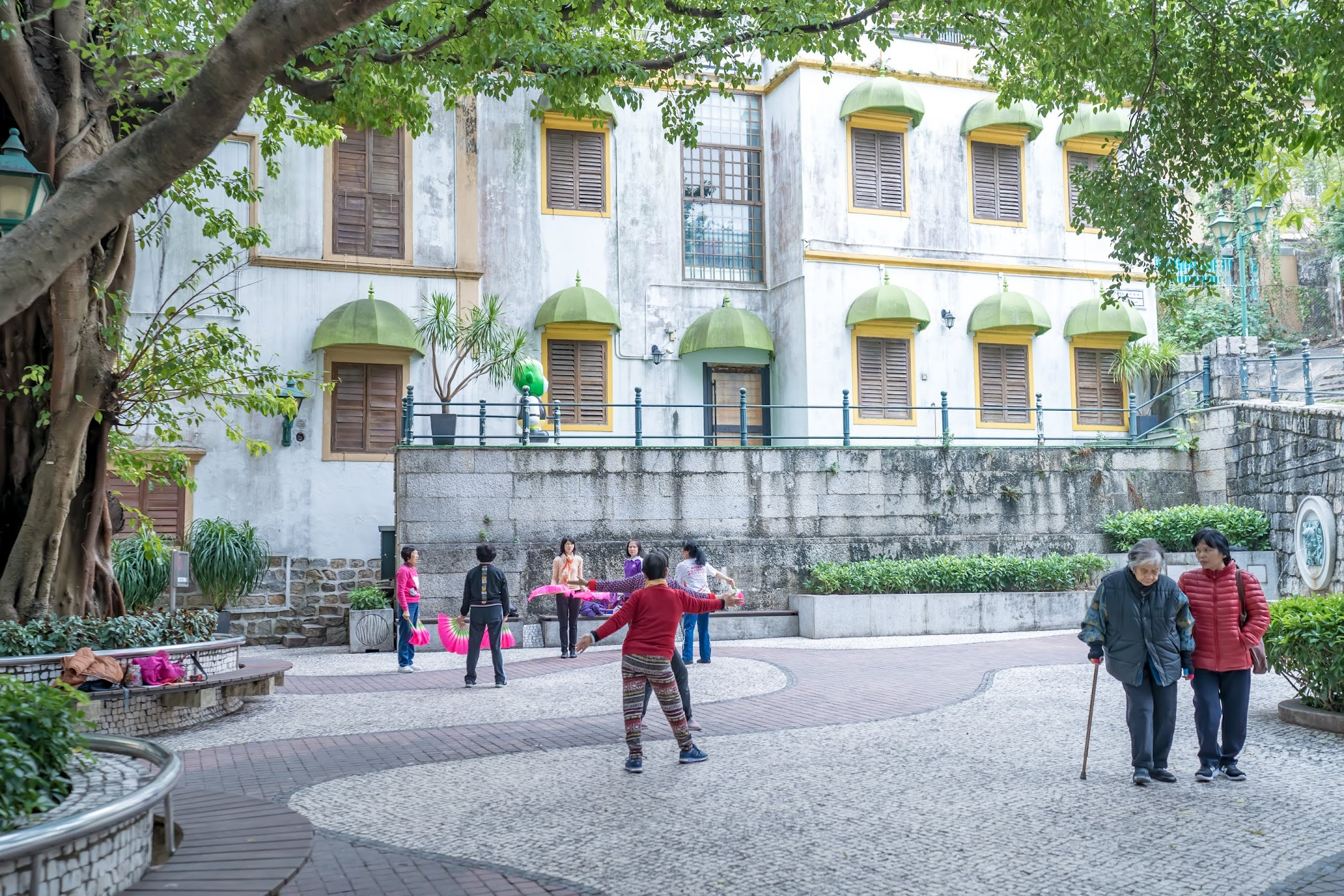 Macau Lilau Square/亞婆井前地/Largodo Lilau