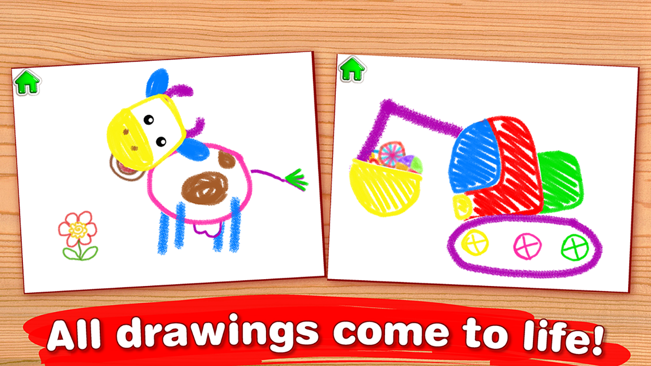 Drawing For Kids! Coloring Children Games Toddlers