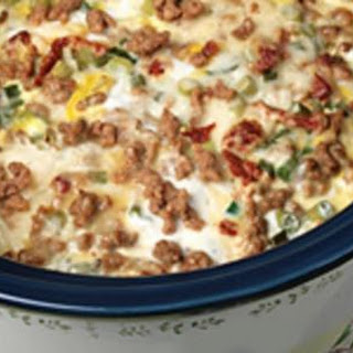 """Slow Cooker Sausage Breakfast Casserole"""