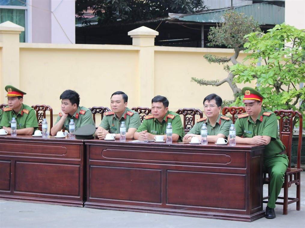 Các đại biểu tham dự khai mạc hội thao
