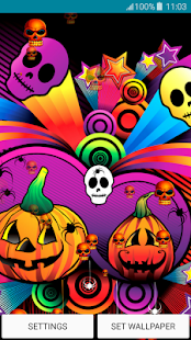 Live Wallpapers – Halloween - náhled