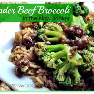 Slow Cooker Beef Broccoli.