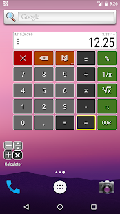 Floating Calculator Free- screenshot thumbnail