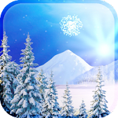 3D Snowfall Live Wallpaper