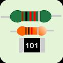 Resistor value calculator- Color and SMD code icon