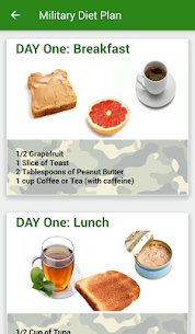 Tracker Weight Loss ★Military Diet★ 8