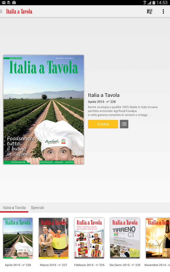 Italia a Tavola- screenshot
