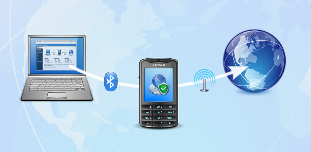 SecureTether - Secure no root Bluetooth tethering 0 9 4 Apk