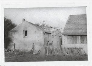 Photo: Dom, który w 1883 roku odkupiła od Rossiny Gross rodzina Pytlik - zdjęcie z 1963 roku.