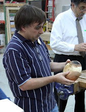 Photo: Tim Aley with a small cherry bowl.
